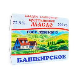 Масло Башкирское крест сл/слив ж72,5 200г