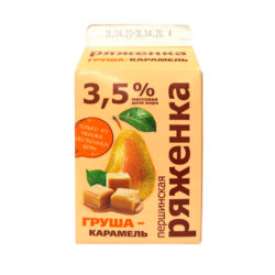 Ряженка Першинское груша/карам ж3,5 400гр п/п