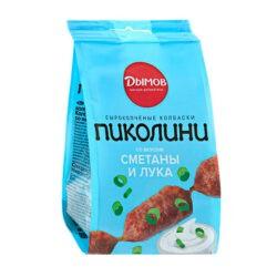 Колбаски Пиколини смет/лук с/к 50г Дымов
